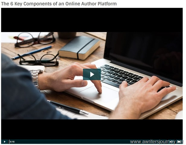 The 6 Components of an Online Author Platform