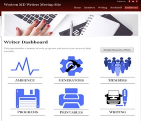 writer dashboard