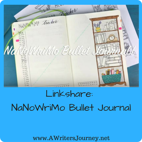 Linkshare- NaNoWriMo Bullet Journal