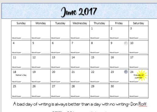 june calendar
