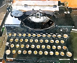 Old typewriter painted.jpg